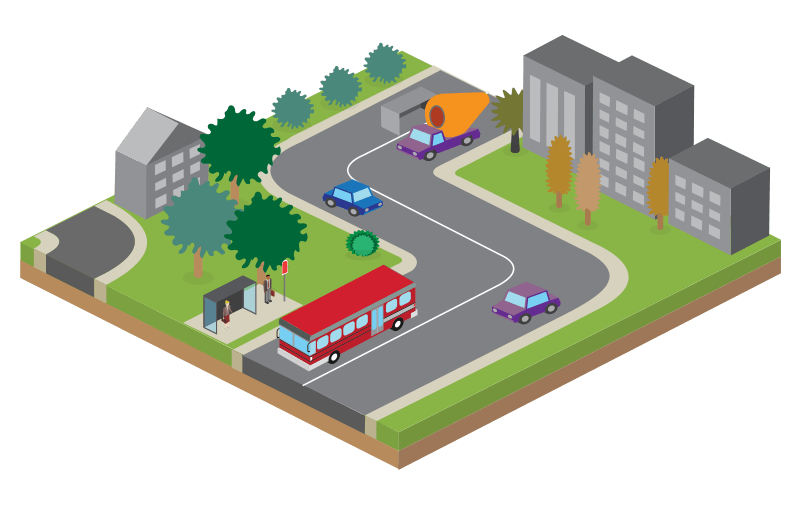 Better Bus System Graphic