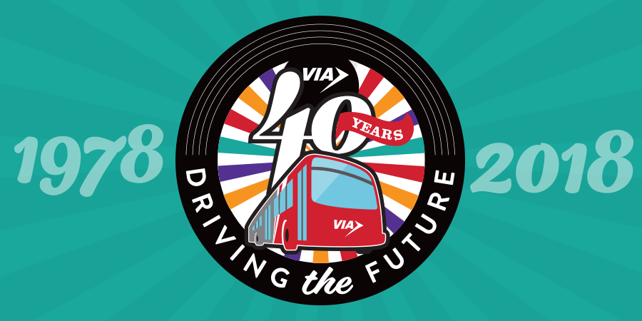 VIA Celebrates 40 Years, Looks Ahead to 'Driving the Future' for San Antonio, Bexar County