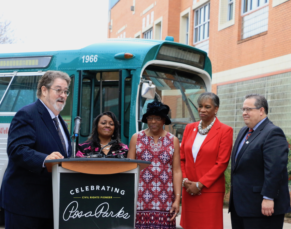 VIA and St. Philip's College commemorate Rosa Parks' 106th Birthday