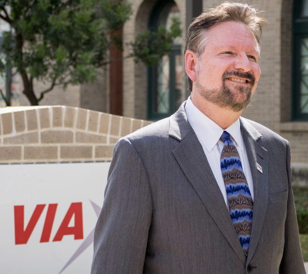 VIA President/CEO Elected Chair of Visit San Antonio, Receives Leadership Award