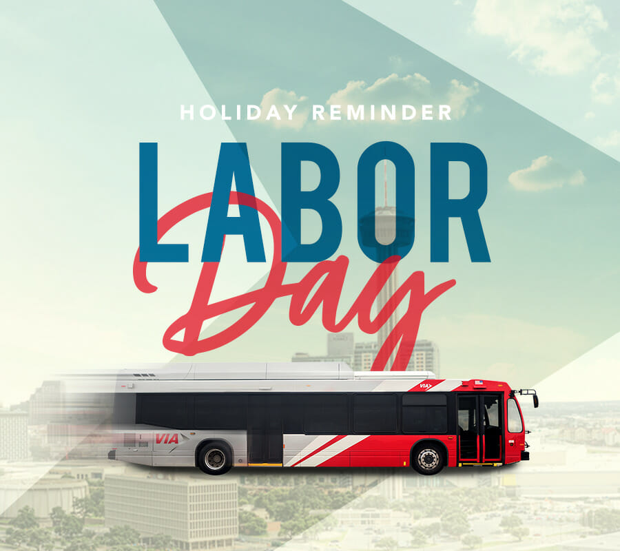 VIA Announces Holiday Schedule for Labor Day